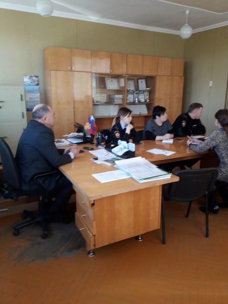 19 февраля 2019 года в Ловлинского сельском поселении прошло  заседание территориальной комиссии