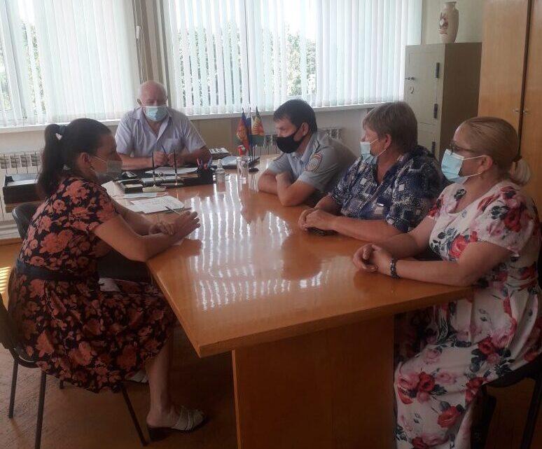 23 июня 2021 года прошло очередное заседание территориальной комиссии по профилактике правонарушений.